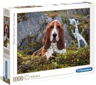 Пазл Собака у водопада 1000 эл Clementoni