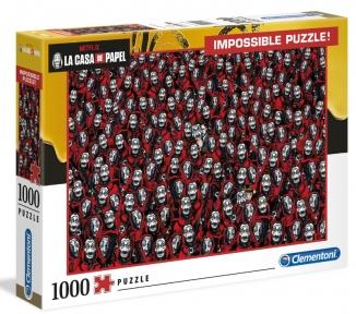 Пазл Нетфликс Бумажный домик серия Нереальное 1000 эл Clementoni