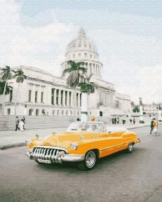 Картина по номерам Кубинское ретро 40 х 50 см Brushme
