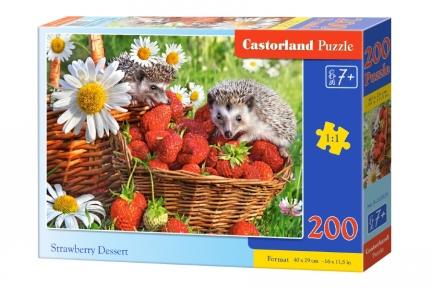 Пазл Клубничный десерт 200 эл