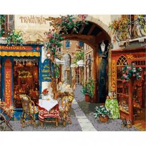 Картины по номерам Волшебный переулок 40 х 50 см КНО2173 Идейка
