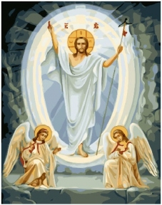Картина по номерам Сын Божий 40 х 50 см Brushme