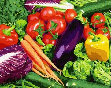 Картина по номерам Овощи 40 х 50 см Brushme