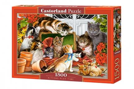 Пазл Игры котят 1500 эл