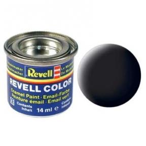 Краска для моделей эмалевая Revell № 8 Черная матовая 14 мл