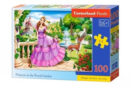 Пазл Принцесса в королевском саду 100 эл