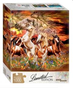 Пазл Найди 16 лошадей 1000 эл