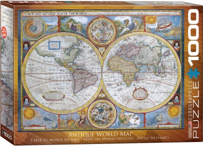 Пазл Eurographics Античная карта мира 1000 эл 6000-2006