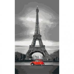 Картины по номерам Париж 30*50 КНО2147 Идейка