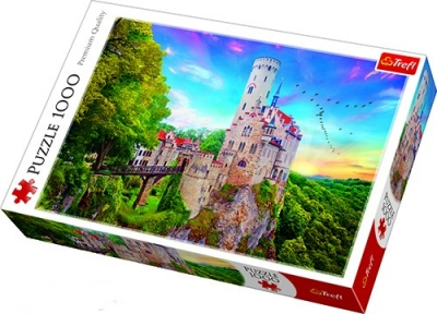 Пазл Замок Лихтенштейн в Германии 1000 эл