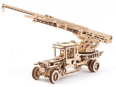 3D Пазлы Модель Пожарная машина 537 дет Ugears