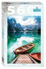 Пазл Италия Озеро Брайес 560 эл Step Puzzle