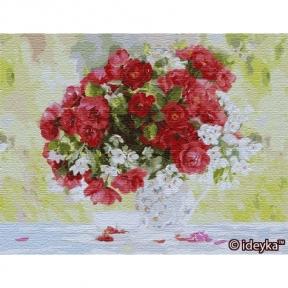 Картины по номерам Цветущее удовольствие 50 х 65 см КНО13118 Идейка