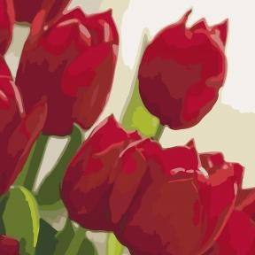 Картины по номерам Любимой 2 30 х 30 см КНО2950 Идейка