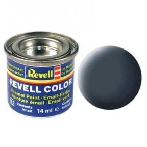 Краска для моделей эмалевая Revell № 9 Антрацитово-серая матовая 14 мл