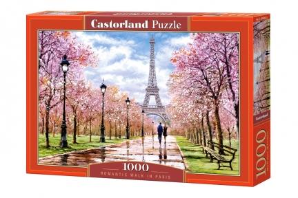 Пазл Романтическая прогулка в Париже 1000 эл