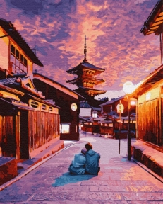 Картина по номерам Романтика в Киото 40 х 50 см Brushme