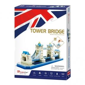 Трехмерный пазл Тауэрский мост Cubic Fun C238h