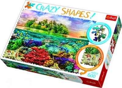 Пазл Тропический остров 600 эл серия Crazy Shapes