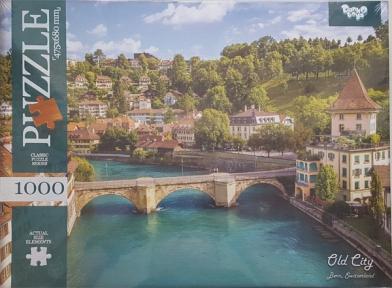 Пазл Старый город Берн в Швейцарии 1000 эл