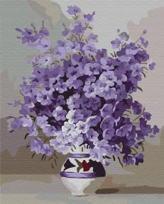 Картина по номерам Фиолетовое цветение 40 х 50 см Brushme