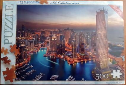 Пазл Вечерние небоскребы Дубаи 500 эл