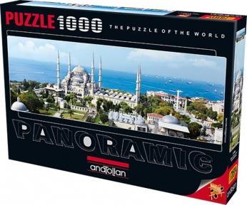 Пазл Мечеть Султанахмет 1000 эл панорамный Anatolian