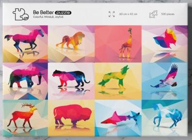 Пазл Животные 500 эл Be Better Puzzle