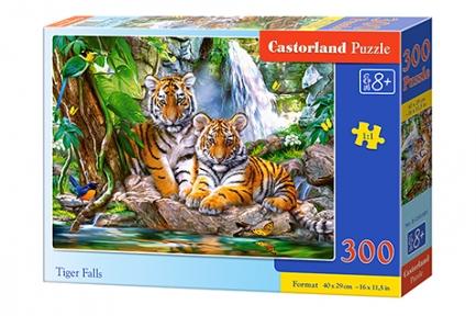 Пазл Водопад тигров 300 эл