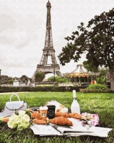 Картина по номерам Пикник в Париже 50 х 40 см Brushme