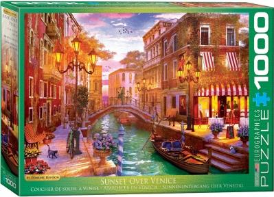 Пазл Eurographics Венецианская романтика. Доминик Дэвисон 1000 эл 6000-5353