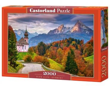 Пазл Дорога в Альпах Германия 2000 эл