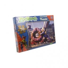 Пазл Зоотрополис 30 эл Danko Toys