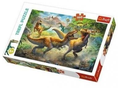 Пазл Тиранозавры 160 эл