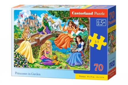 Пазл Принцессы в саду 70 эл крупные