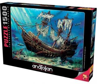 Пазл На дне моря 1500 эл Anatolian