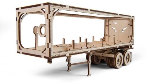 3D Пазл Механическая модель Полуприцеп к модели Тягач VM-03 138 дет Ugears