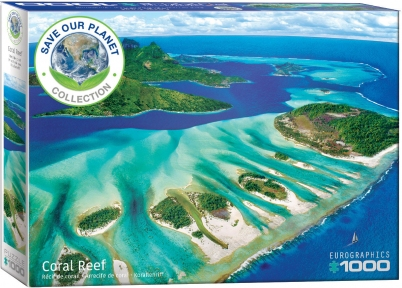 Пазл Eurographics Кораловый риф Серия Спасем нашу планету 1000 эл 6000-5538