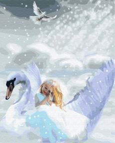 Картина по номерам Крылатые мечты 40 х 50 см Brushme