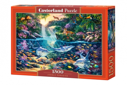 Пазл Райские джунгли 1500 эл