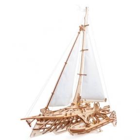 3D Пазлы Модель Тримаран Мерихобус 237 дет Ugears