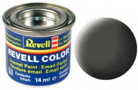 Краска для моделей эмалевая Revell № 65 Бронзово-зеленая матовая 14 мл.