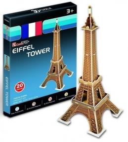 Трехмерный пазл Эйфелева башня серия мини Cubic Fun S3006h