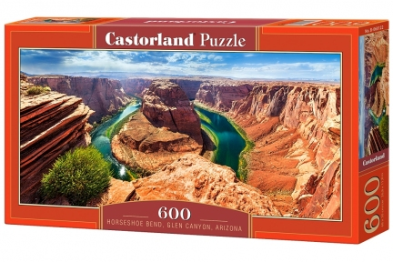 Пазл Хорсшу Бенд каньон Глен в Аризоне 600 эл панорамный