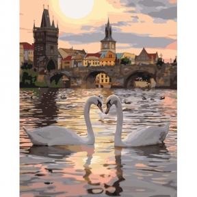 Картина по номерам Романтичная Прага КНО4135 Идейка