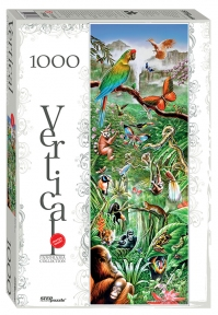Пазл Джунгли 1000 эл вертикальный Step Puzzle