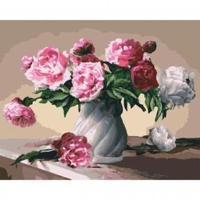 Картины по номерам Цветы любви 40 х 50 см КНО3001 Идейка