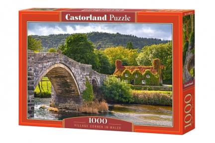 Пазл Деревня в Уэльсе 1000 эл Castorland 104673