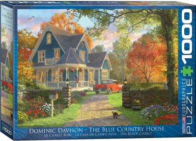 Пазл Eurographics Голубой загородный дом Доминик Дэвисон 1000 эл 6000-0978