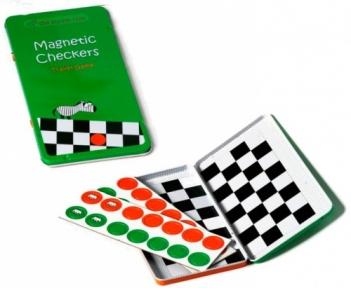 Шашки, магнитная мини-игра, Joy Band